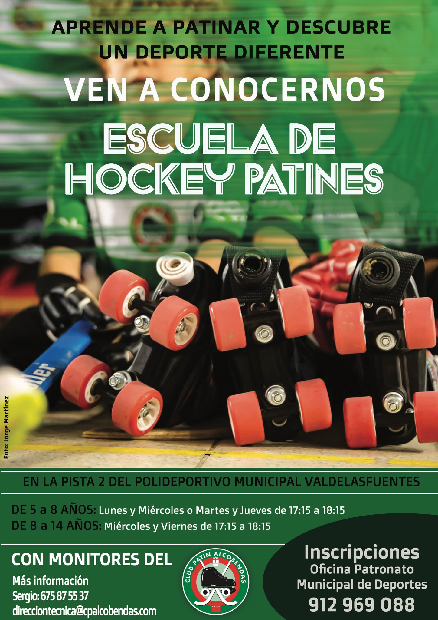 Escuela de Hockey Club Patín Alcobendas